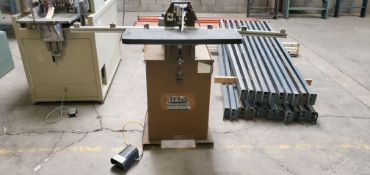 Ritter 1-Spindle Doweling Boring Machine 115V Model# R-130