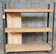 "Rack On Wheels 72"" X 24"" X 76""Tall"