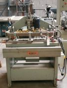 Holz Her 19-Spindle Line Boring Machine 220V 3Phase