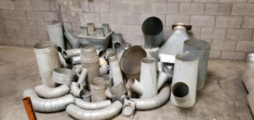 Misc- Dust Collector Fittings, Elbows, Blast Gates, Y's, & Reducers