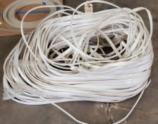 "Lot of 1-1/4"" White T-Molding"
