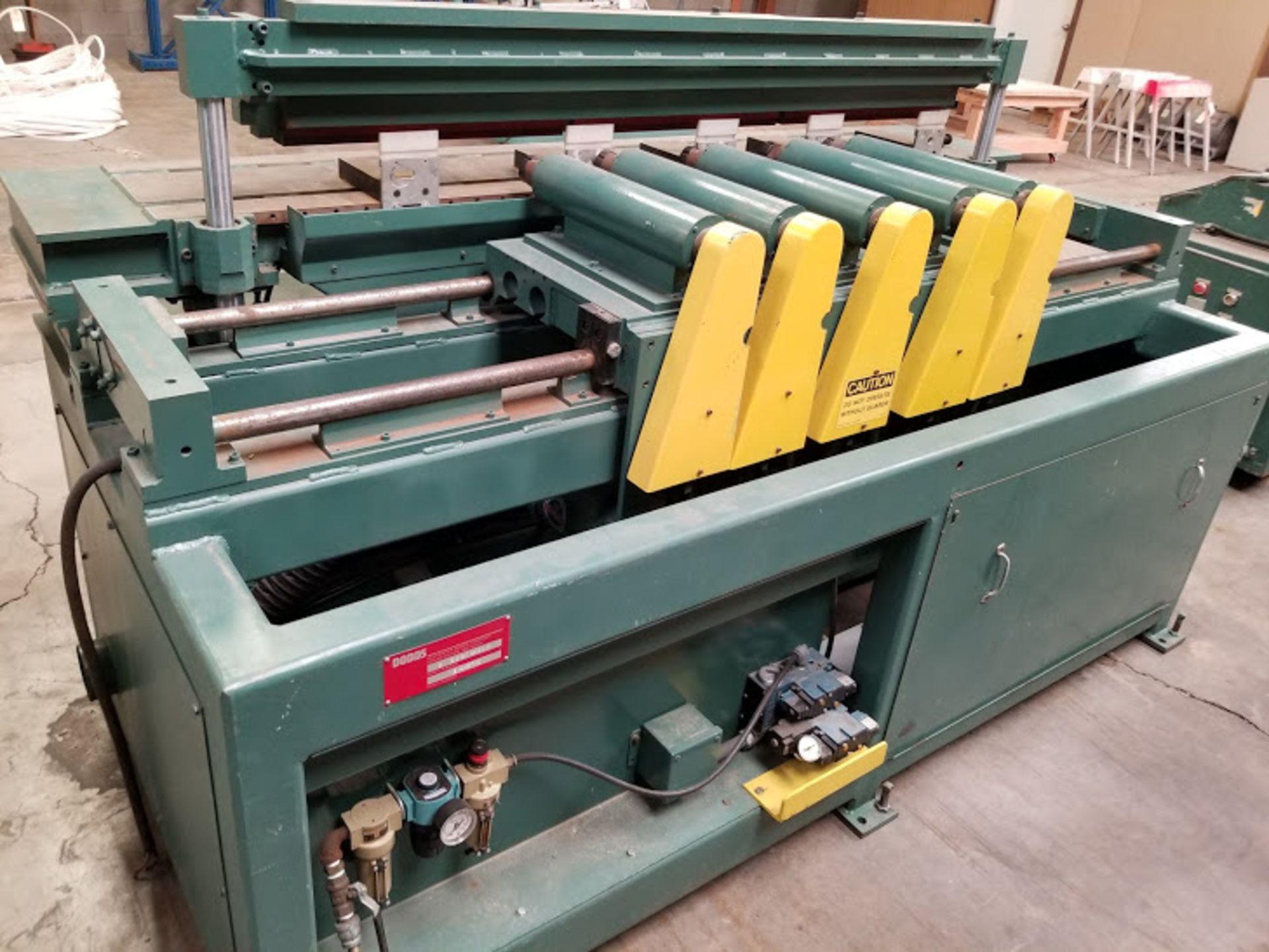 Lot 6 - Dodds 5 Spindle Boring Machine, Model #B-802, 5 - Baldor 1.5 HP 208-230/460 Volts 3 phase Motors,
