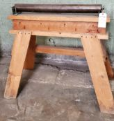 "Outfeed Roller Stand 31"" Wide"