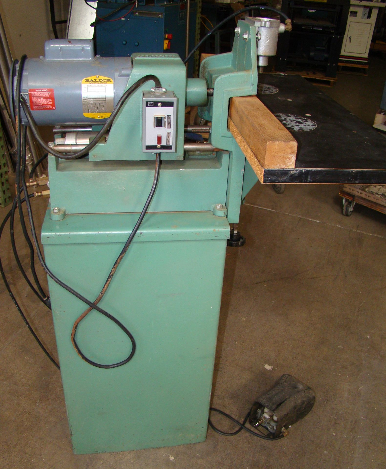 Ritter 1 Spindle Boring Machine, Pneumatic Foot Pedal, Baldor 3/4 HP 115/230 Volts 1 Phase Motor - Image 5 of 7