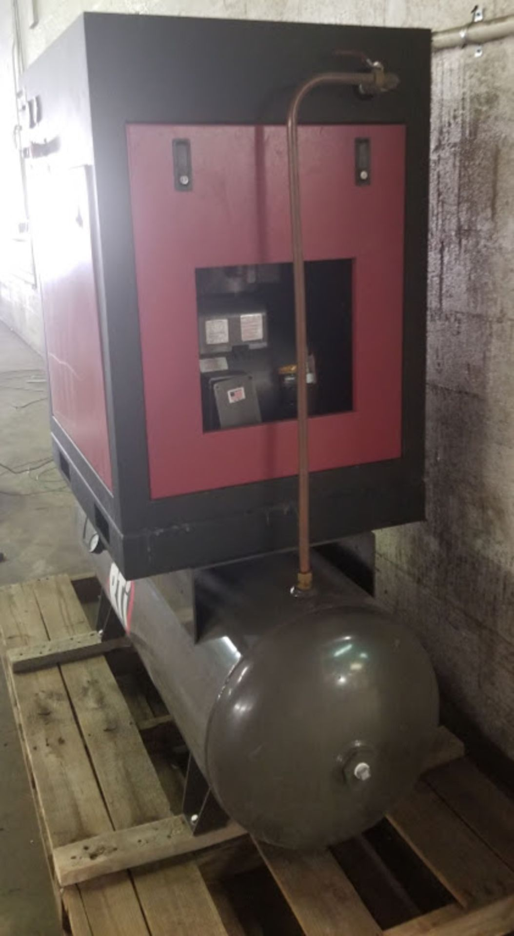 RTI 80 Gallon Rotory Screw Air Compressor, 10HP 230 Volts 1Phase - Image 2 of 4