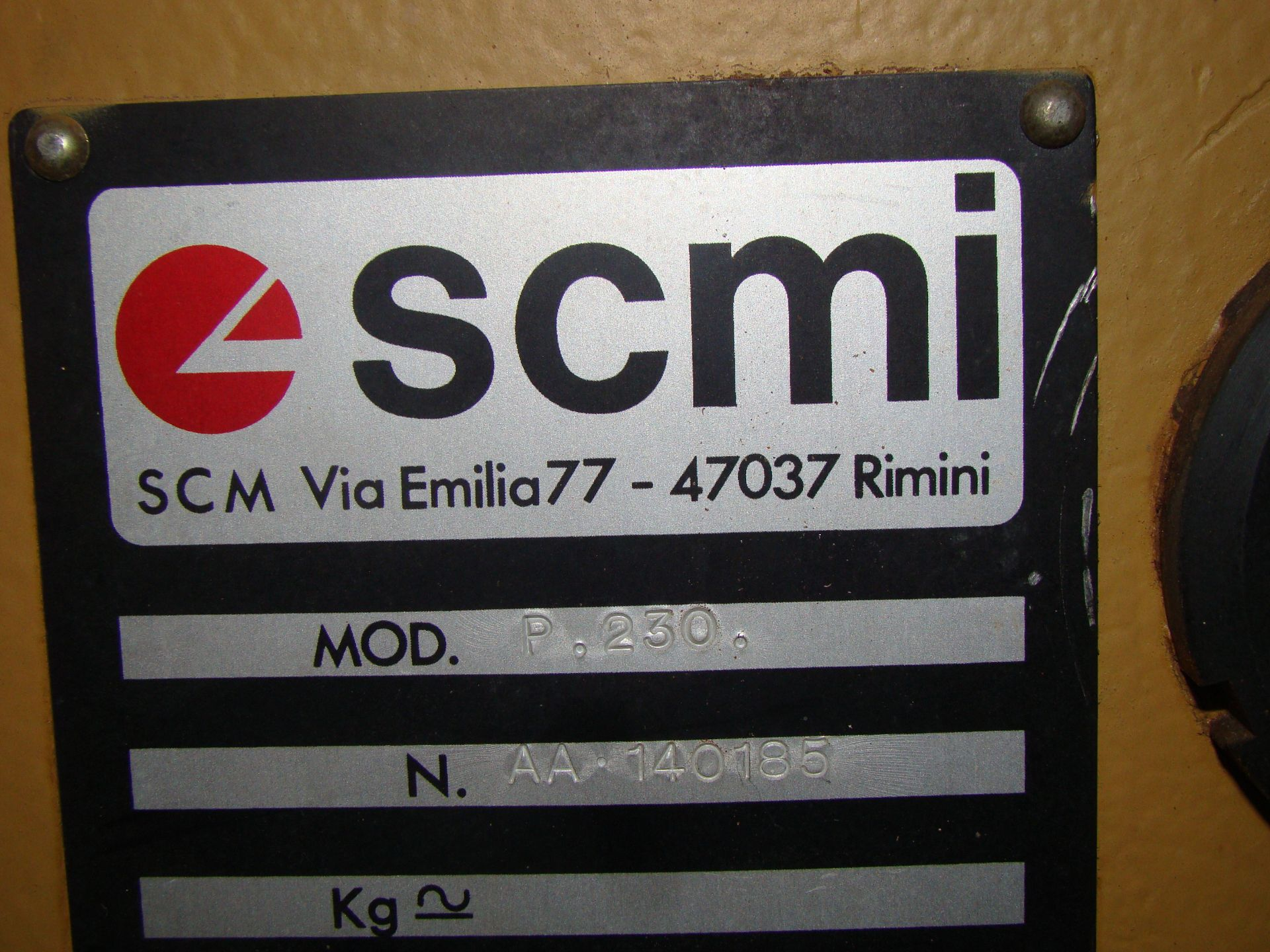 "SCMi 9"" Wood Moulder, Model: P230 5 Head 6.6HP 220/440 Volts 3Phase - Image 5 of 14"