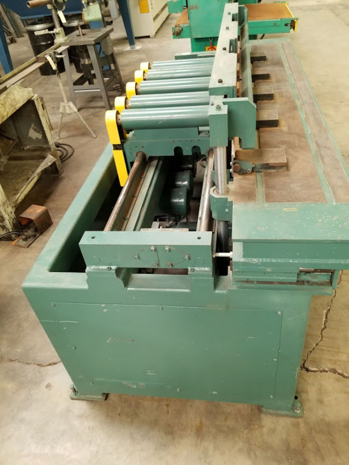 Dodds 5-Spindle Boring Machine, Model: B-802 Baldor 1.5HP 208-230/460 Volts (5 Motors) - Image 4 of 6