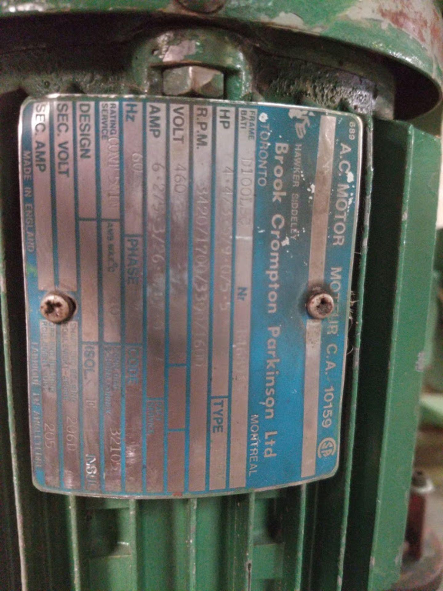 """Wakin Busgreen 36"""" Pin Router Machine, #:4X/B/1/81351 4HP - Image 5 of 5"""