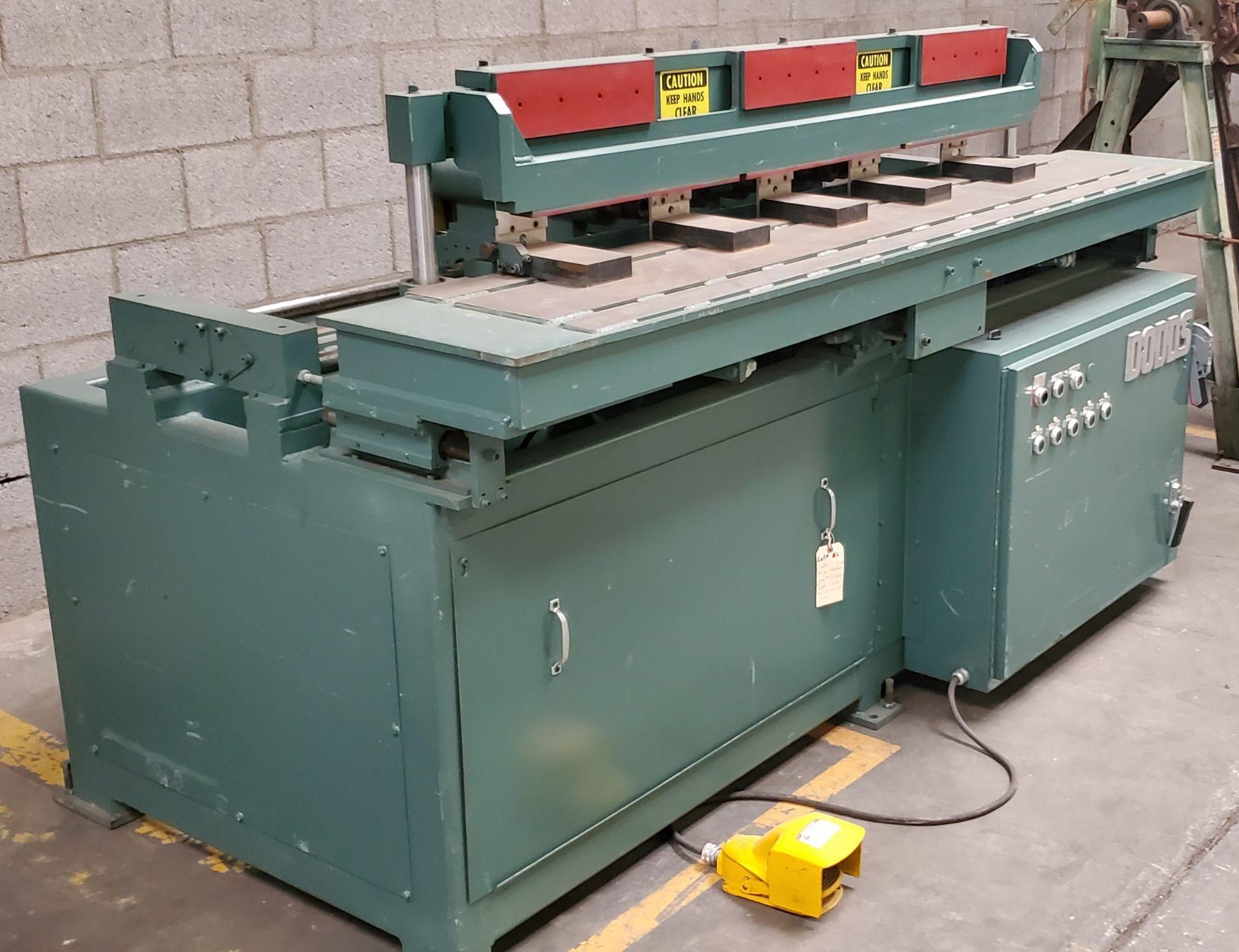 Dodds 5-Spindle Boring Machine, Model: B-802 Baldor 1.5HP 208-230/460 Volts (5 Motors) - Image 2 of 6