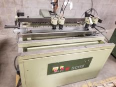 SCMi MB29 Construction Line Boring Machine 29 Spindles 230V 3PH