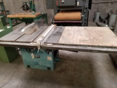 "Jet 14-16"" Table Saw Model: CTAS-1416LFR w/ Biesemeyer Fence System 7.5HP 230/460V"