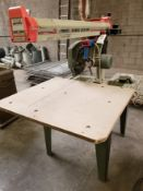 "Omga 14"" Radial Arm Saw Model: RN700 230V 3PH"