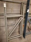 "Pallet Racking Uprights (75"" x 32"") Qty 2"