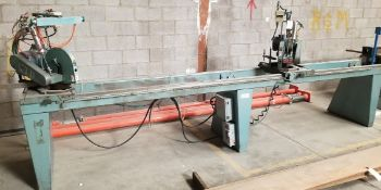 CTD Double Miter Saw, 2-2HP 230/460V Valdor Motors