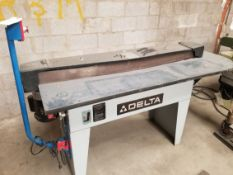 "Delta 4""x132"" Edge Sander Model: 31-380 1.5HP 115/230V 1PH"