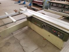 SCMi Sliding Table Saw w/ Scoring Unit, Model: SI16W 230V 3PH
