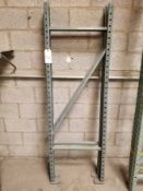 "Pallet Racking Uprights (72"" x 24"") Qty 2"