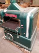 "Powermatic 20"" Wood Planer Model: 221 5HP 3PH"
