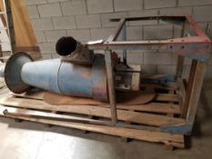 Torit Donaldson Dust Collector Model: 20-5, 5HP 230V 1PH