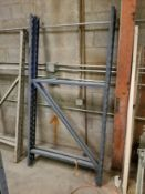 "Pallet Racking Upright (81"" x 42"") Qty 2"