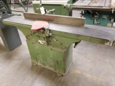 "12"" Wood Jointer 220V 1PH"