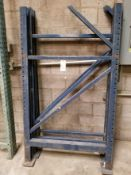 "Pallet Racking Uprights (72"" x 42"") Qty 3"