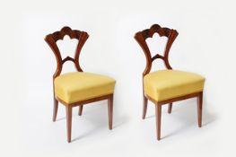 2 Sessel im Stil des Biedermeiers