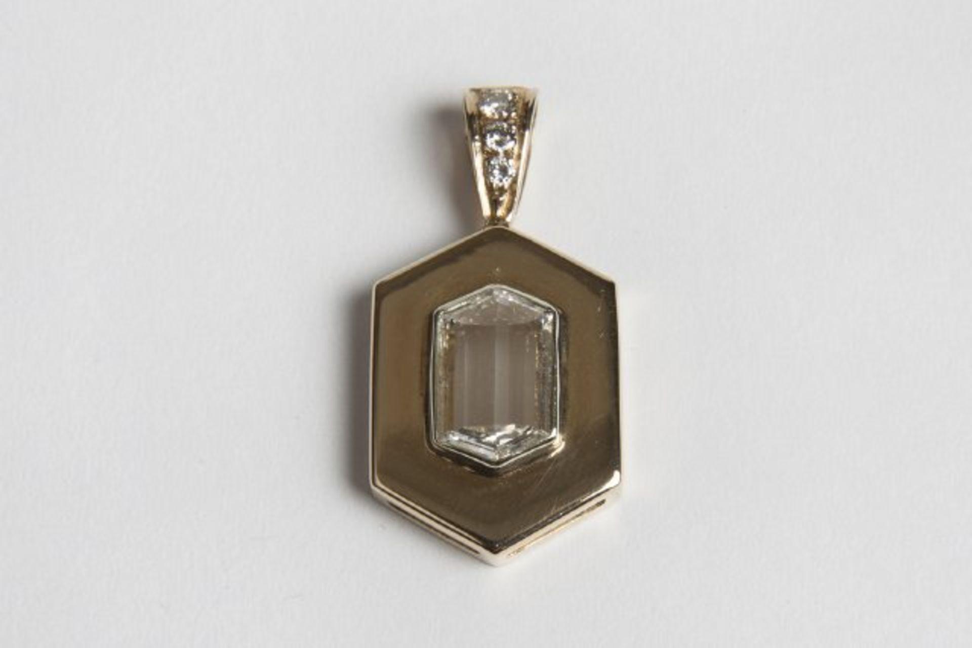 Los 48 - Brillant-Diamant-Anhänger