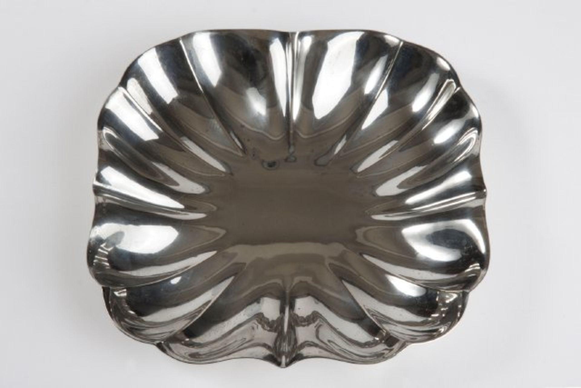 Los 16 - Quadratische Wiener Silberschale