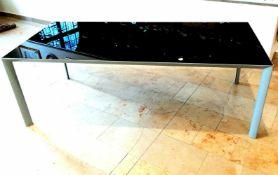 Moderner Design-Glastisch, Marke PORRO