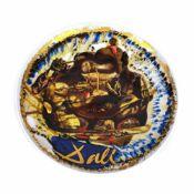 Decorative porcelain plate, design Salvador Dali, limited edition