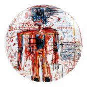"""Untitled"" - decorative plate Jean-Michel Basquiat"
