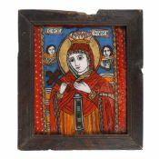 """""""Saint Paraschiva"""" (Saint Venera, Protector of Moldova), Transylvanian workshop (Șcheii Brașov"""