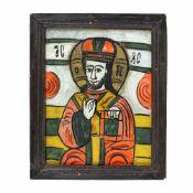 """Christ Pantocrator"", Transylvanian workshop (Nicula), late 19th century"