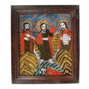 """""""The Transfiguration of Jesus"""", Transylvanian workshop (Țara Bârsei), 19th century"""