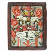 """The Lamentation of Jesus"", Transylvanian workshop (Gherla), late 19th century"