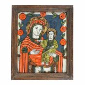 """""""Virgin Mary and the Baby (Hodighitria)"""", Transylvanian workshop (Nicula), late 19th century"""