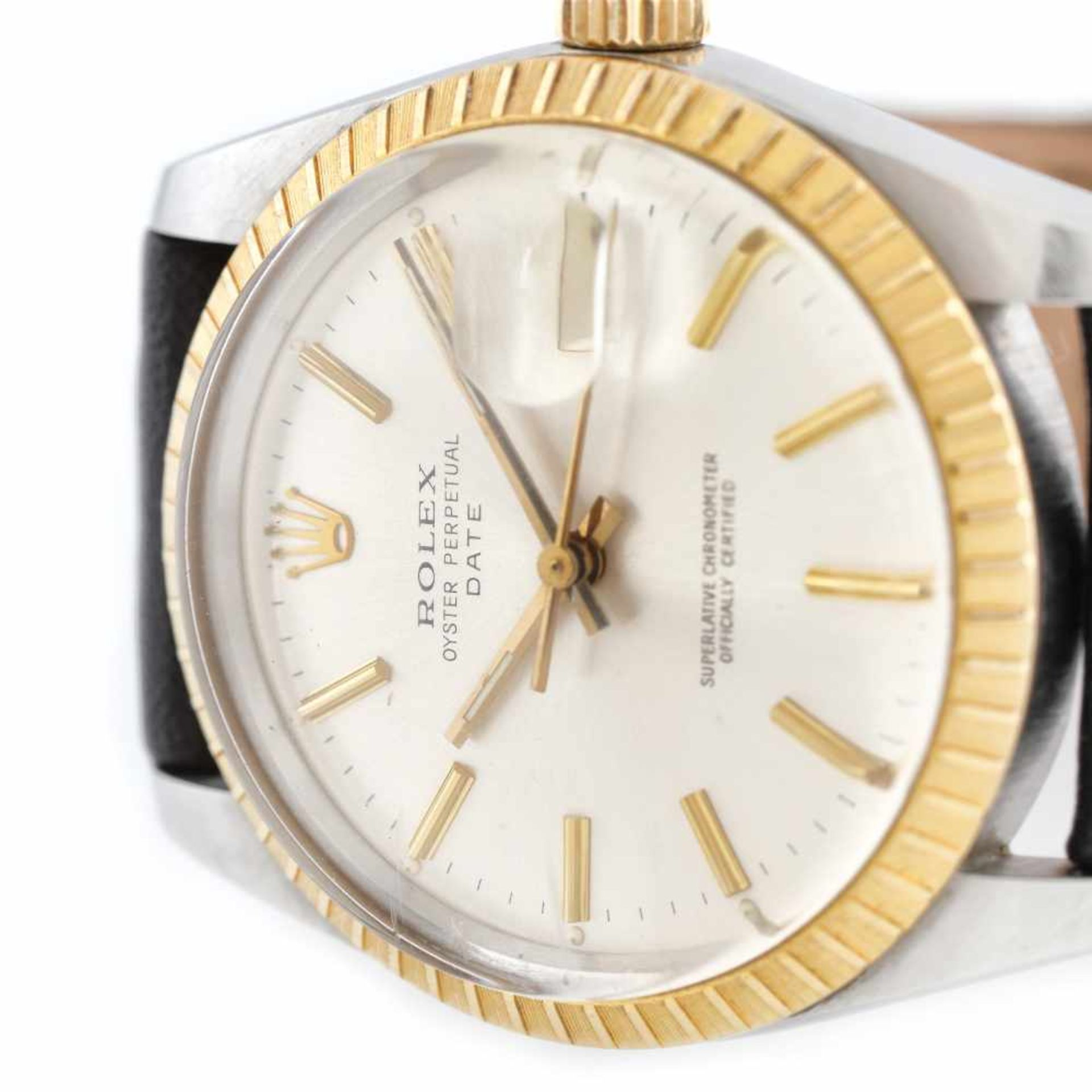Rolex Oyster Perpetual Date wristwatch, gold and steel, men - Bild 3 aus 3