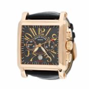 Franck Muller Bosphorus Edition wristwatch, rose gold, men, limited edition 10/34