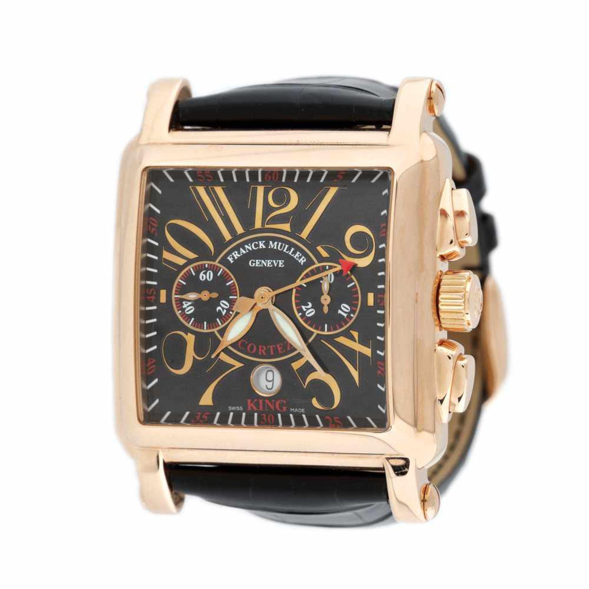 Franck Muller Bosphorus Edition wristwatch, rose gold, men, limited edition 10/34