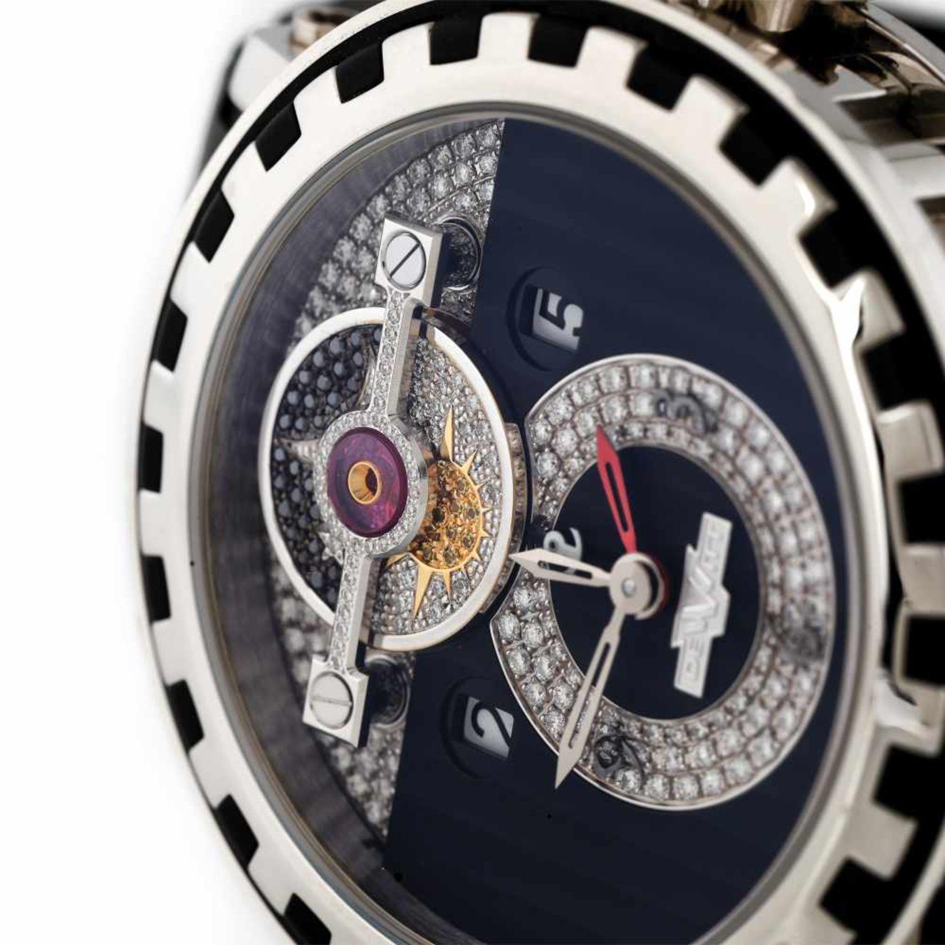 Dewitt Academia Triple Complication wristwatch, limited edition 11/250, provenance documents and ori - Bild 2 aus 4