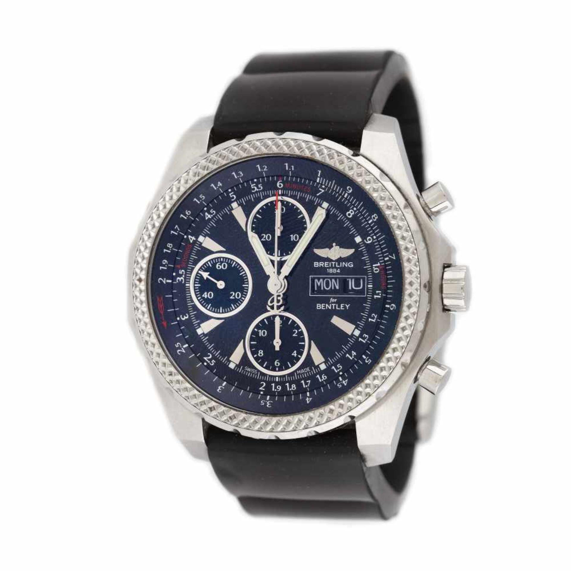 Breitling wristwatch, made for Bentley, men