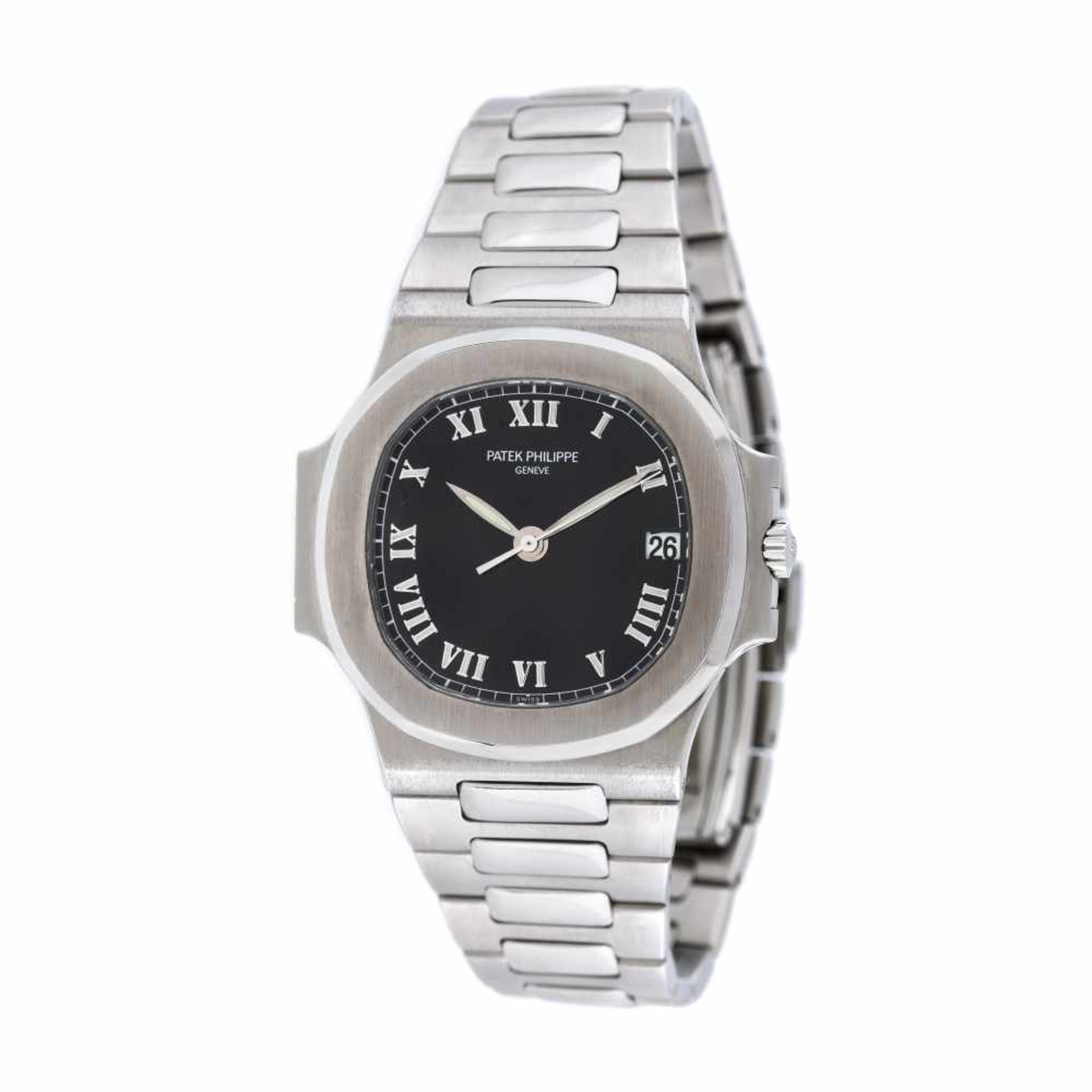 Patek Philippe Nautilus wristwatch, unisex, provenance documents