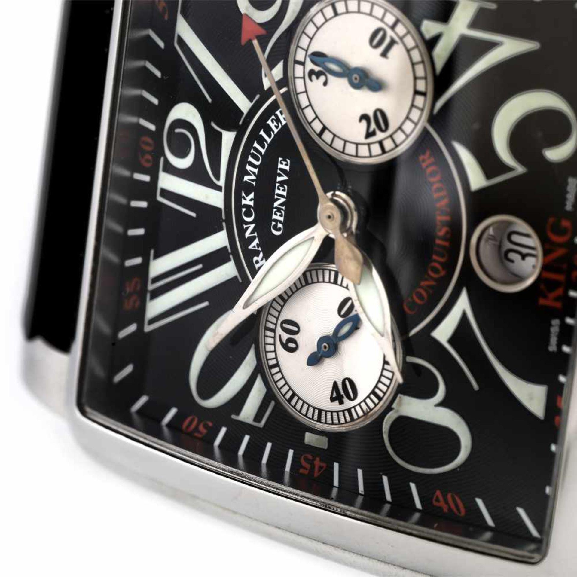 Franck Muller Conquistador wristwatch, men, provenance documents - Bild 3 aus 3
