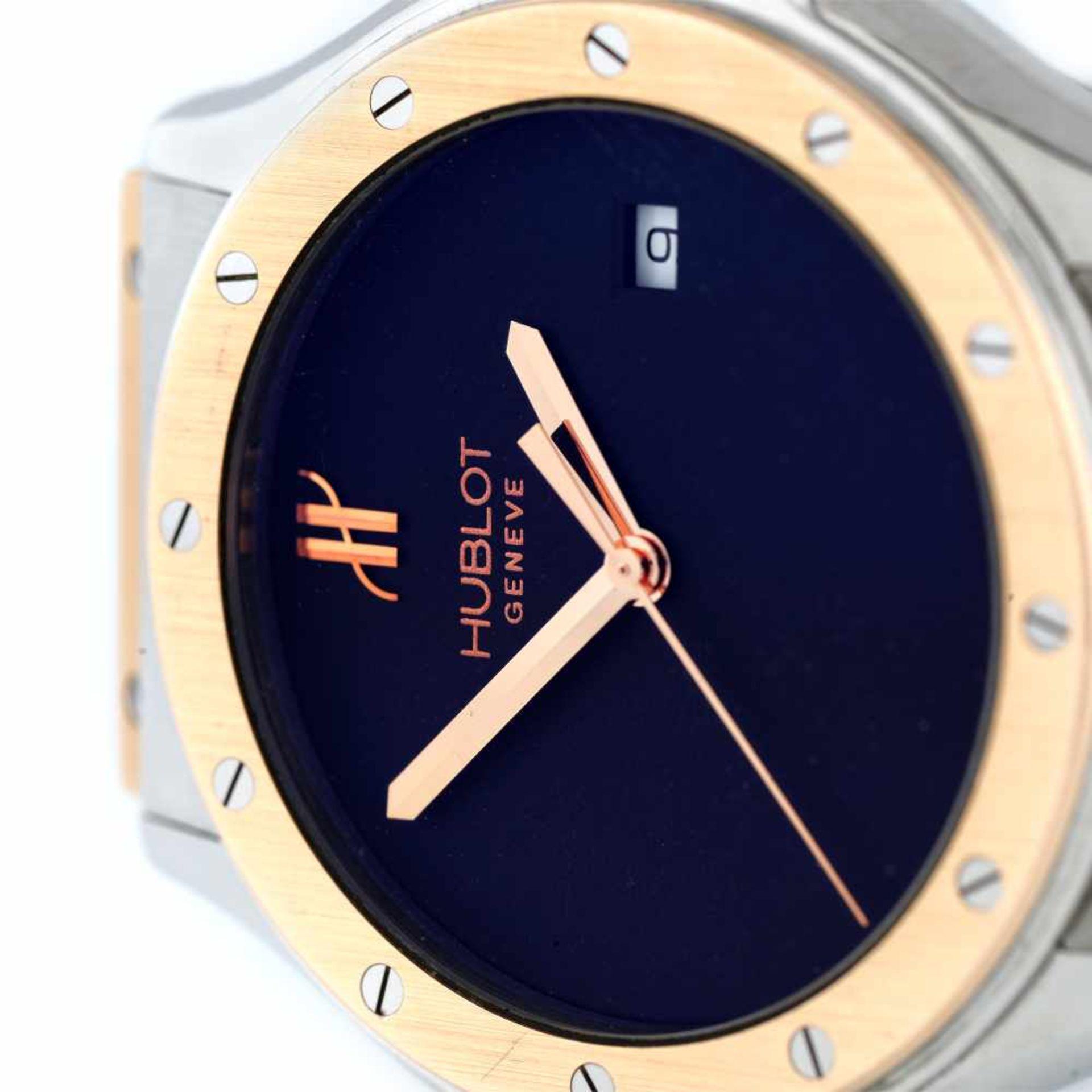 Hublot Classic Fusion wristwatch, steel and rose gold, unisex, provenance documents - Bild 2 aus 3