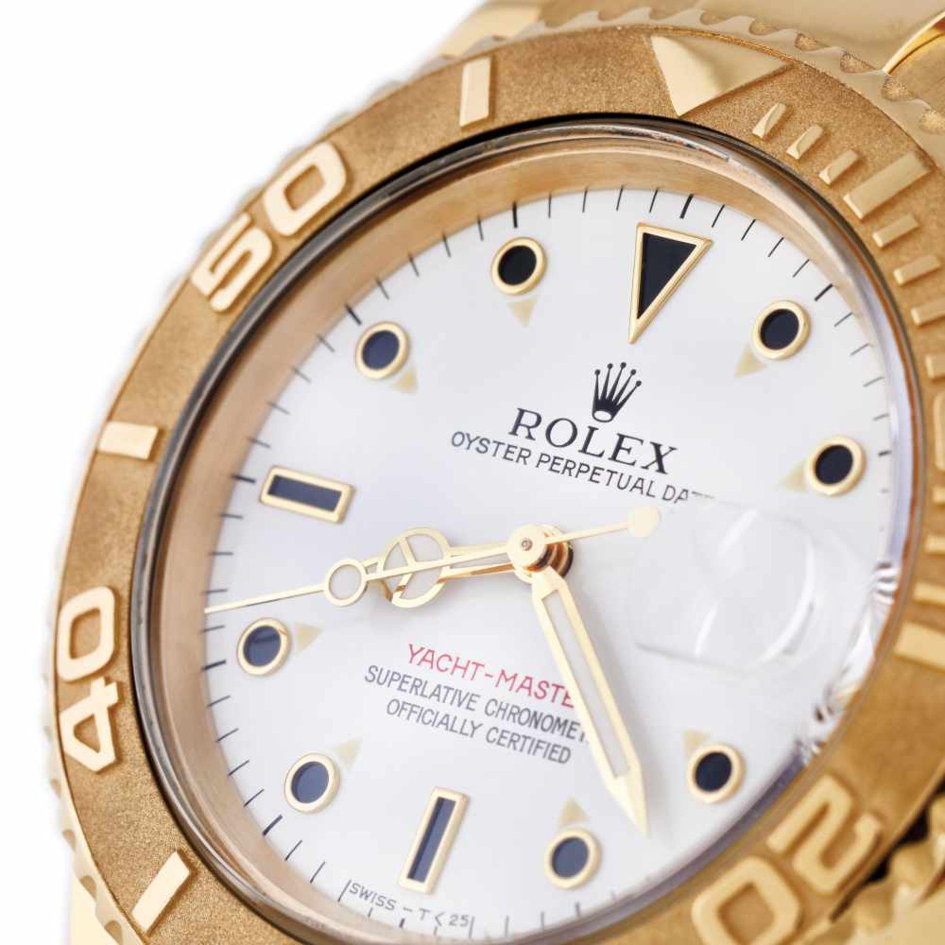 Rolex Yacht Master wristwatch, gold, men, instruction manual and original box - Bild 6 aus 6