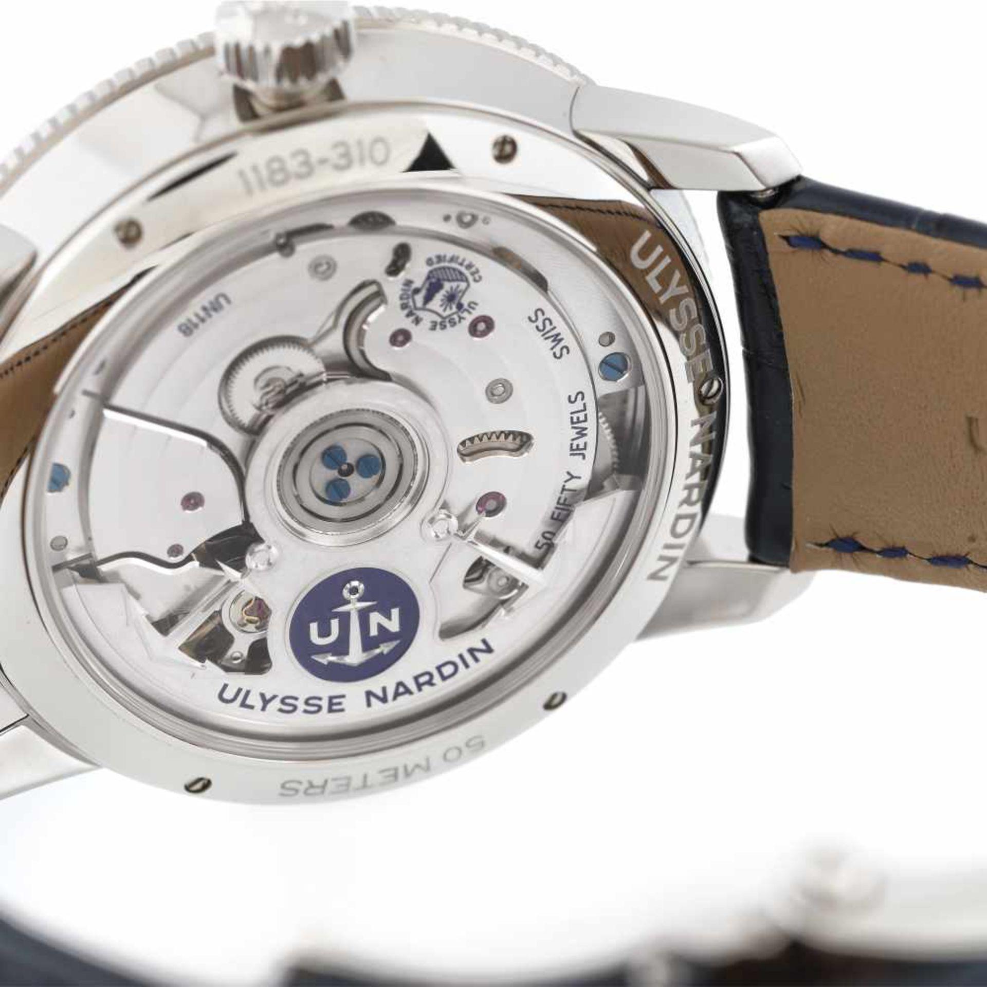 Ulysse Nardin Marine Torpilleur wristwatch, men, original box and authenticity documents - Bild 4 aus 5