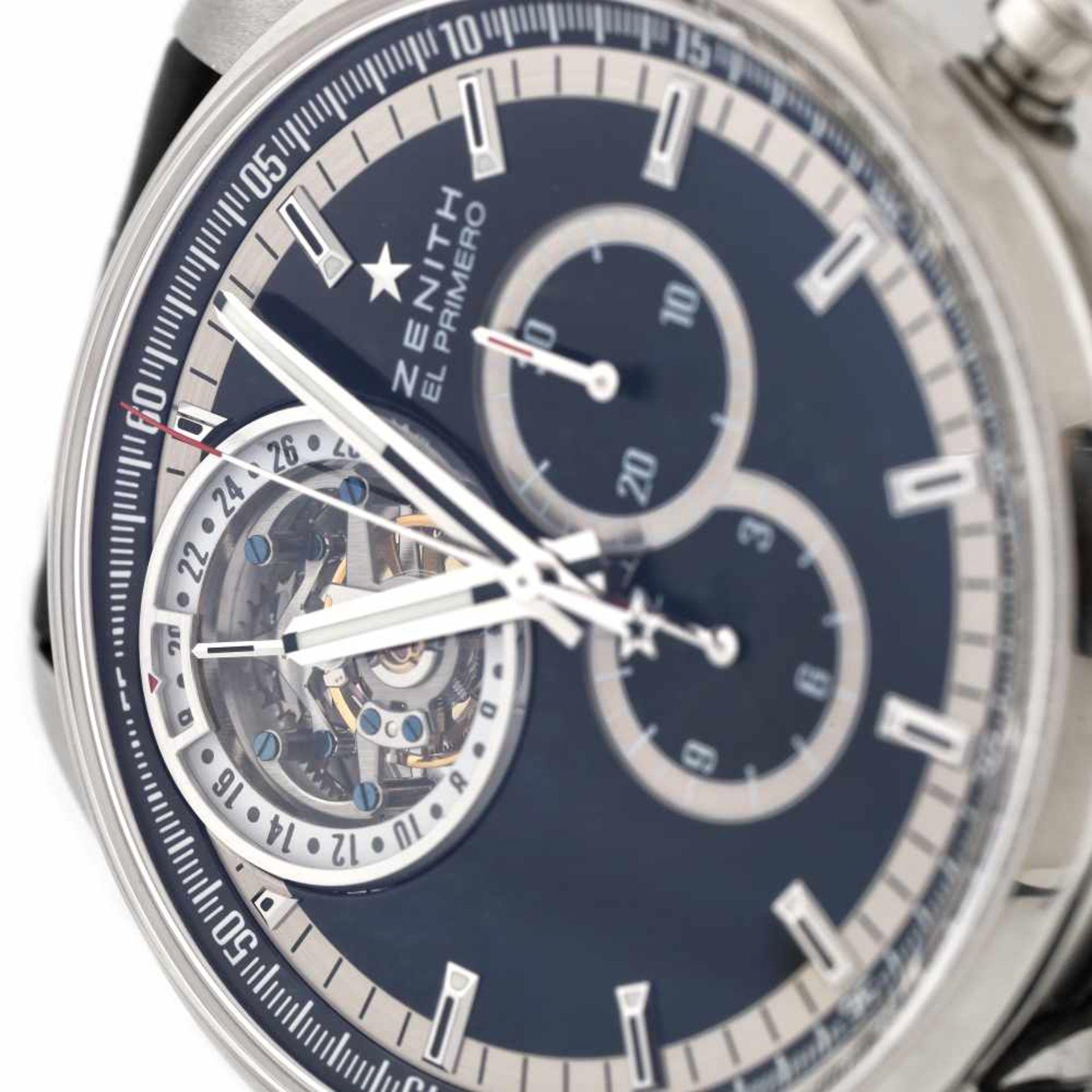 Zenith El Primero Tourbillion wristwatch, men - Bild 3 aus 4