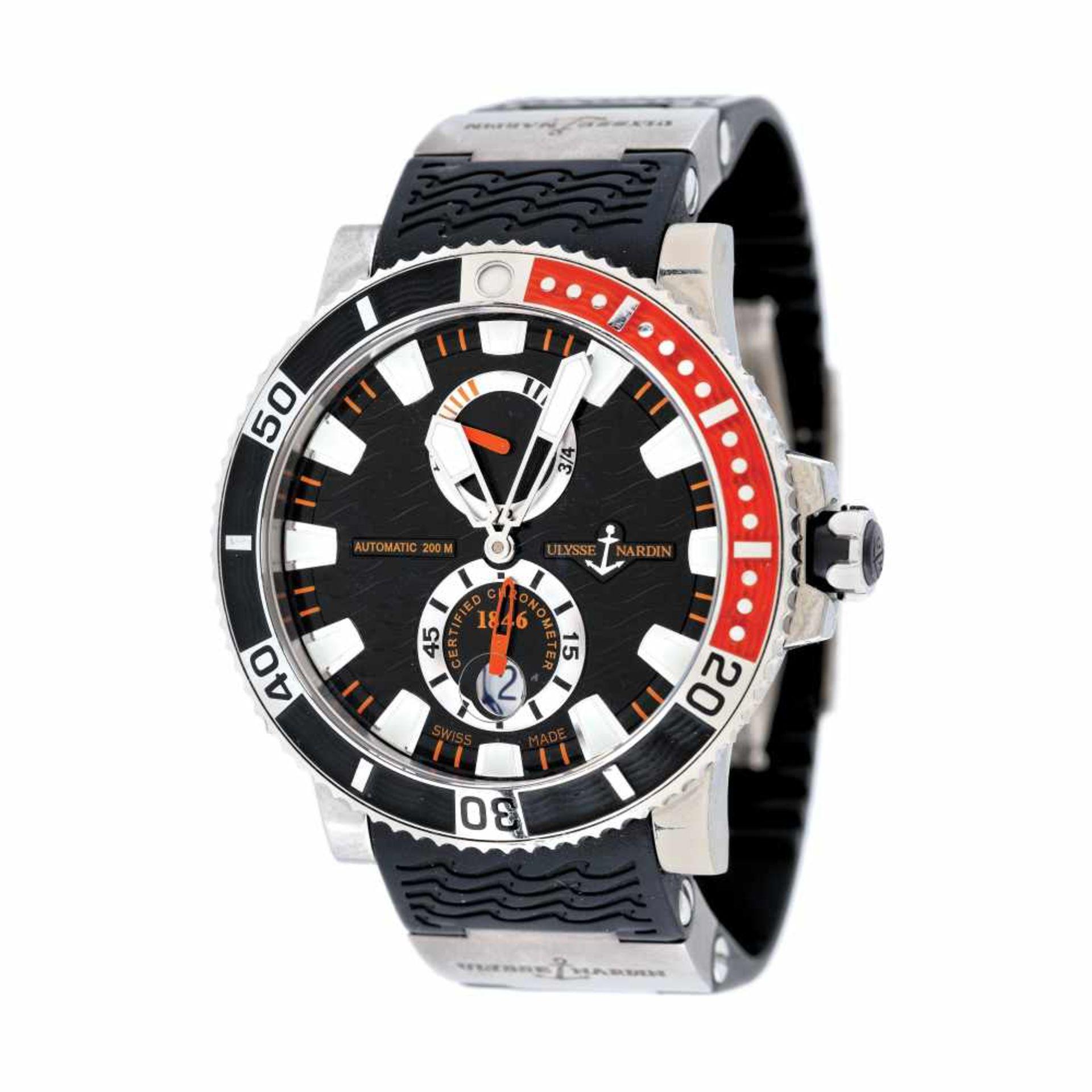 Ulysse Nardin Marine Diver wristwatch, men, provenance documents