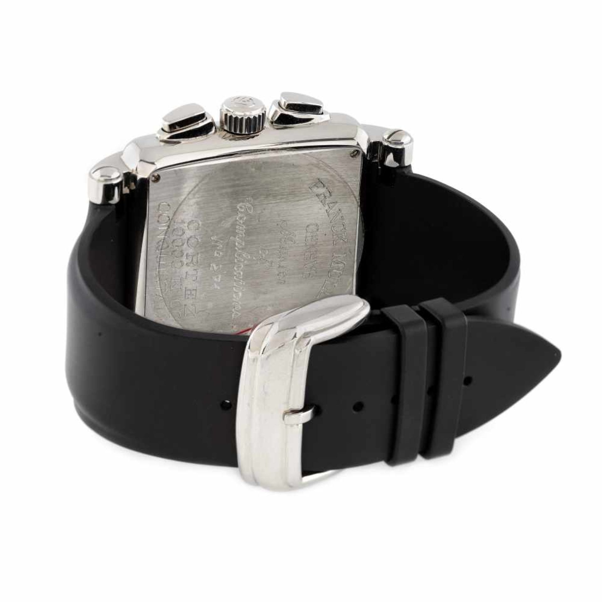 Franck Muller Conquistador wristwatch, men, provenance documents - Bild 2 aus 3